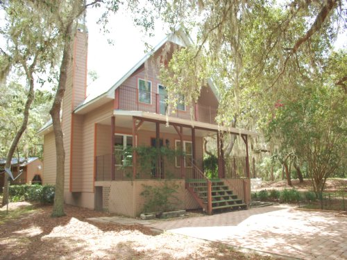 House W/ 3 Acres On Lake (wh-231) : Hawthorn : Putnam County : Florida