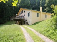 Secluded Home With Creek Frontage : Hillsville : Carroll County : Virginia