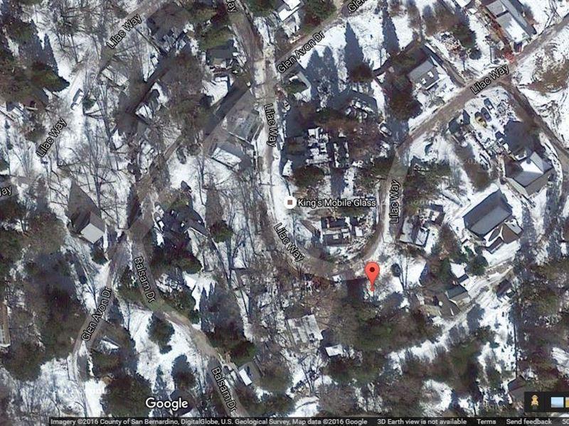 .06 Acres In Cedar Glen, CA : Cedar Glen : San Bernardino County : California
