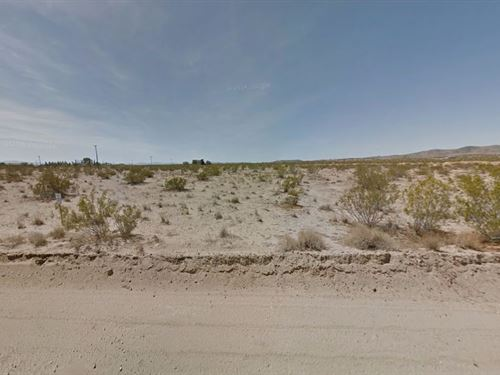 4.75 Acres In Landers, CA : Landers : San Bernardino County : California