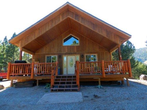 2 Homes On Chimney Lakes : Helmville : Powell County : Montana