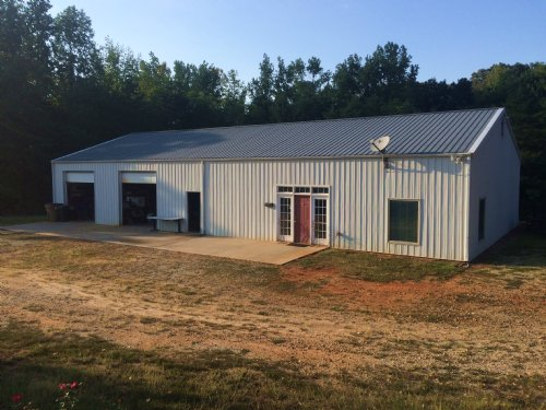 Home W/ Commercial Buildings : Fountain Inn : Greenville County : South Carolina