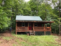 Finished Cabin On 6 Acres : Pharsalia : Chenango County : New York