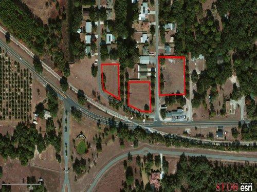 2.8 Acres (3 Comm, 1 Residential) : Tavares : Lake County : Florida