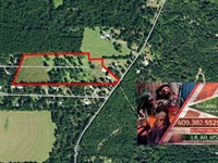 18.2 Ac - Rural Tract Ideal For Hom : Jasper : Jasper County : Texas