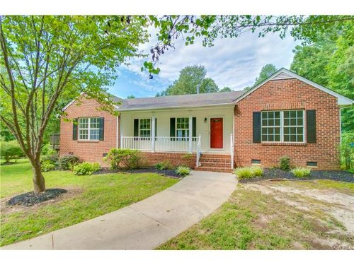 Renovated Home On Nearly 12 Acres : Montpelier : Hanover County : Virginia