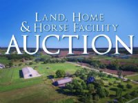 Land, Home, Horse Facility Auction