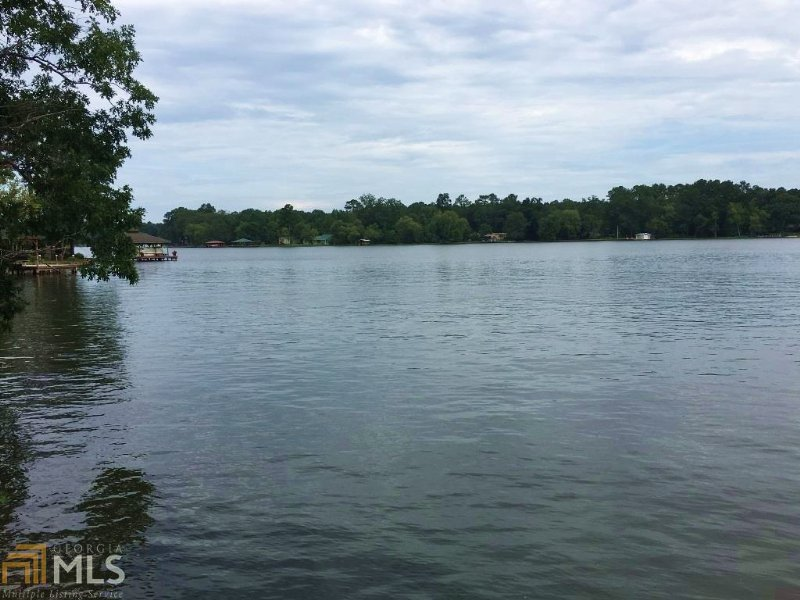 Lake Sinclair Pt Lot - Just Reduced : Sparta : Hancock County : Georgia