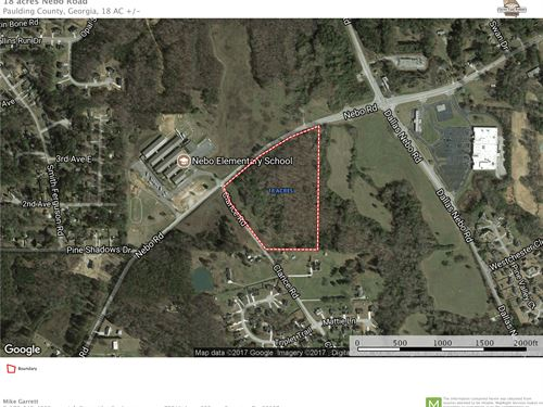 18 Acres Nebo Road : Dallas : Paulding County : Georgia