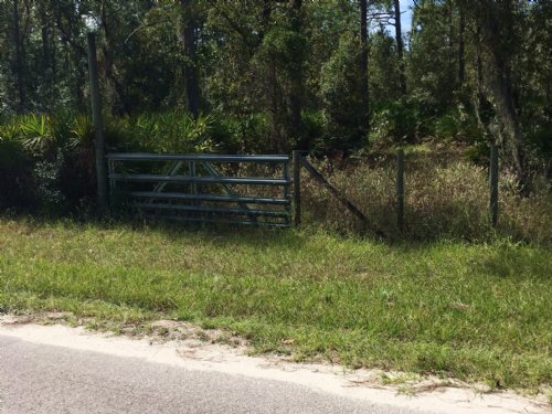 5 Acres, Paved Rd, Fenced And Gated : Crystal River : Citrus County : Florida
