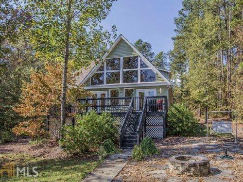 Lakefront - Sinclair Home 1.9 Acres : Eatonton : Putnam County : Georgia