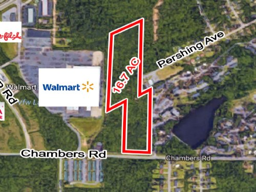 16.7 Ac Chambers Rd : Macon : Bibb County : Georgia