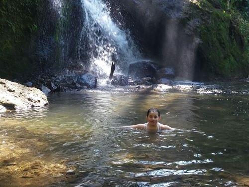 Waterfalls Rushing Mt Rio 1 3/4 Ac : Cachi Orosi Valley : Costa Rica