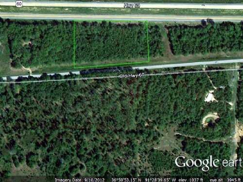 3.7 Acre With Pond & Unfin Cabin : Birch Tree : Shannon County : Missouri