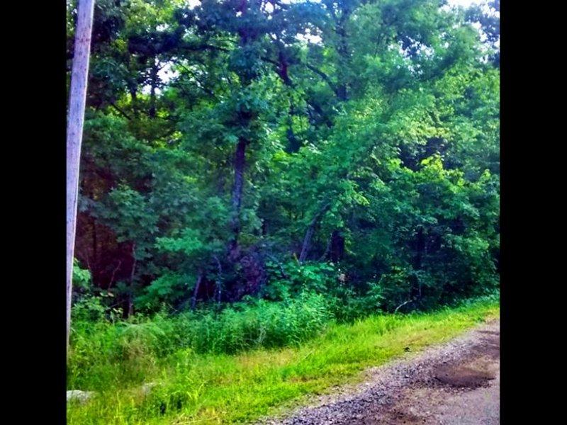 Nice 0.23 Acre Lot With A Creek : Ozark Acres : Sharp County : Arkansas