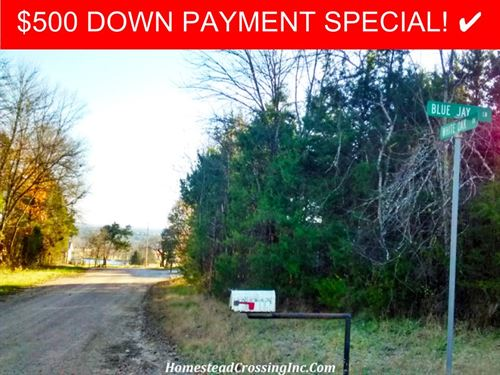 2.36 Acre Homesite With Views : Diamond City : Boone County : Arkansas