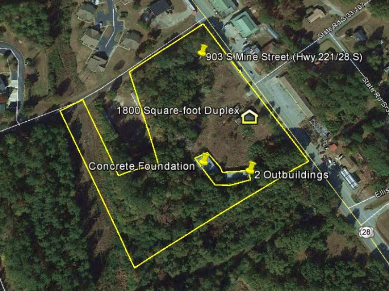 McCormick Commercial Property : McCormick : McCormick County : South Carolina