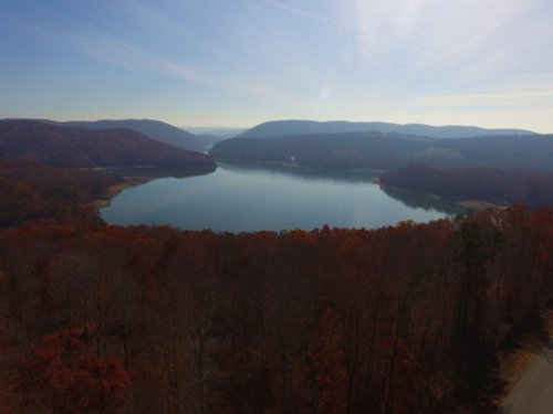 Norris Lake View Cleared Lot : New Tazewell : Claiborne County : Tennessee