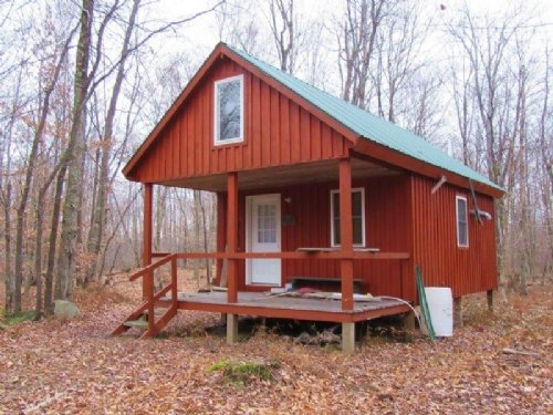 Cabin Near Redfield Reservoir : Orwell : Oswego County : New York