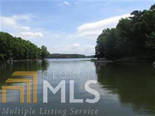 Lake Front W/125ft Water Frontage : Eatonton : Putnam County : Georgia