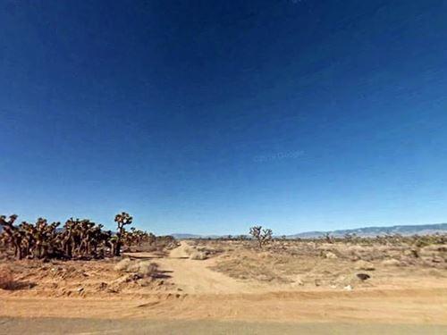 1.53 Acres In Lancaster, CA : Lancaster : Los Angeles County : California