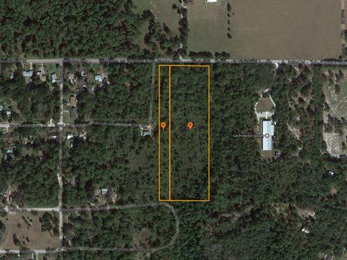 7.8 Acres Ready For Development : Eustis : Lake County : Florida