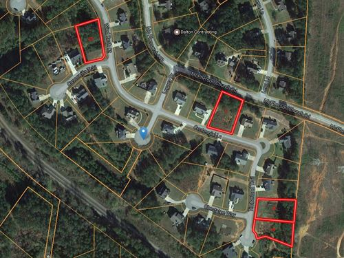 4 Ready To Build Subdivision Lots : Dallas : Paulding County : Georgia