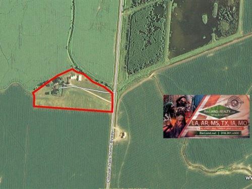 10.9 Ac - Home And Acreage Near Gre : Vidalia : Concordia Parish : Louisiana