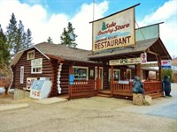Sula Store, Log Home, Cabins, Rv Pa : Darby : Ravalli County : Montana