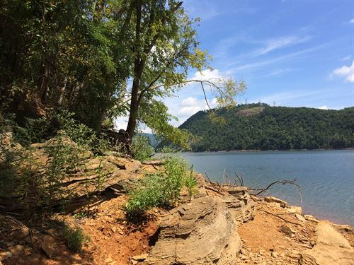 Cherokee Lake Main Channel Lot : Mooresburg : Hawkins County : Tennessee