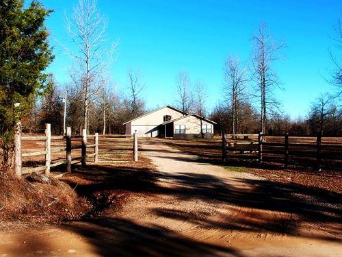 Rattan Landing Ranchette : Antlers : Oklahoma County : Oklahoma