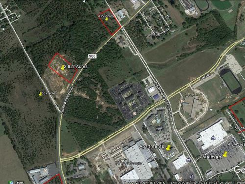 2+ Prime Commercial Acres : Stephenville : Erath County : Texas