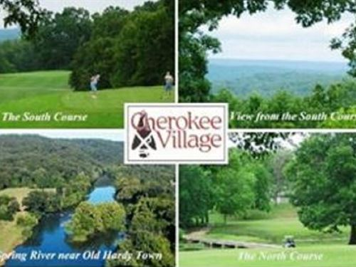 .08 Acres In Cherokee Village, AR : Cherokee Village : Fulton County : Arkansas