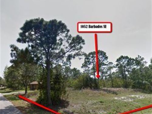 Palm Bay, Ready To Build, Cleared : Palm Bay : Brevard County : Florida