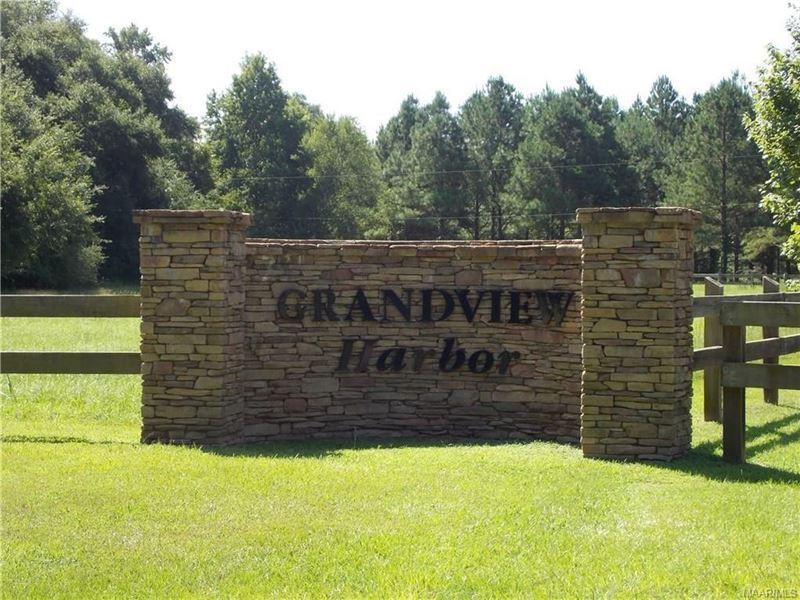 Grandview Harbor Lot 93 : Autaugaville : Autauga County : Alabama