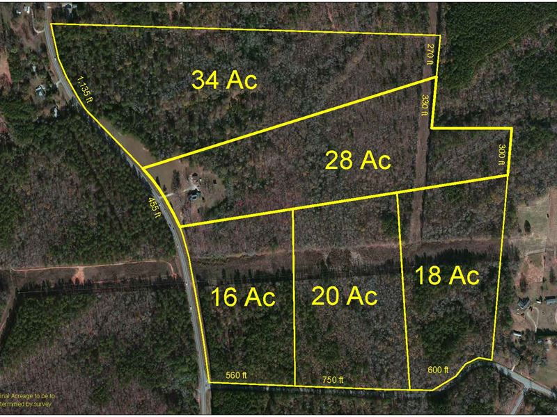 Wooded Acreage Great Location : Covington : Newton County : Georgia