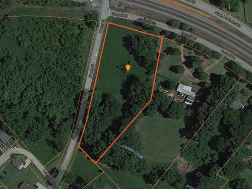 Reduced, Large Corner Lot In Wel : Wellford : Spartanburg County : South Carolina