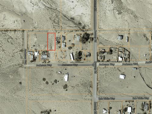 12,197 Sq Ft Residential Property : Tecopa : Inyo County : California