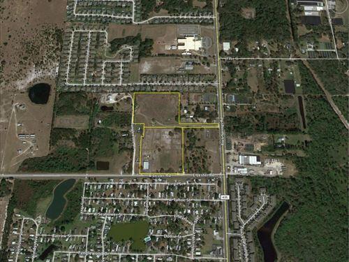 20 Ac Multi-Family Site : Apopka : Orange County : Florida