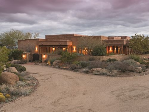 Horse Prop/Estate & Executive Home : Wickenburg : Yavapai County : Arizona