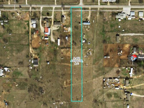 1.95 Acres Outside Fort Worth : Joshua : Johnson County : Texas