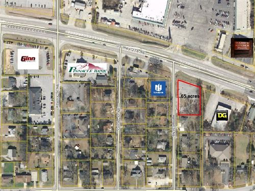 Commercial Lot With Road Frontage : Covington : Newton County : Georgia