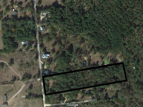 Great Lot For Residential/Agri Use : Crawfordville : Taliaferro County : Georgia