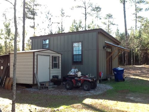 Morgan Mill Rd 6 Ac With House : Brantley : Crenshaw County : Alabama