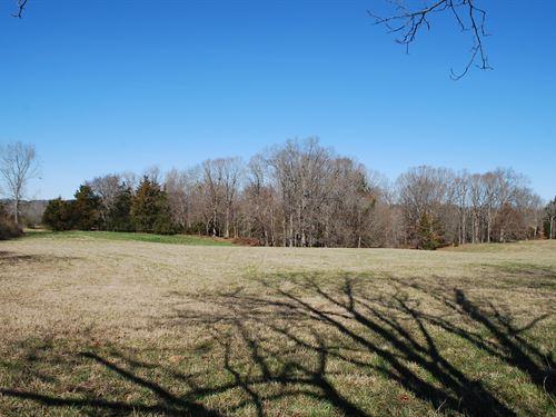 6 Acre Country Setting Homesite : Union County : South Carolina