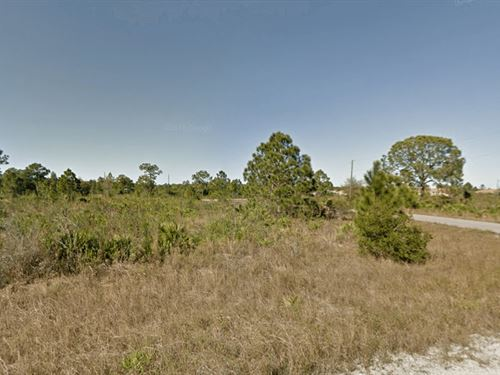 Residential Lot For Sale In Lehigh : Lehigh Acres : Lee County : Florida