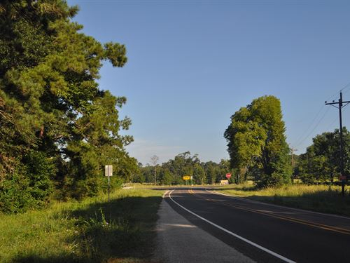 7.6 Acres Hwy 94 : Trinity County : Texas