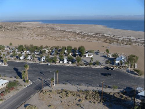 Residential Lot With Paved Access : Salton City : Imperial County : California