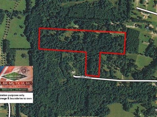 16.9 Ac - Wooded Home Site Tract : Zachary : East Baton Rouge Parish : Louisiana