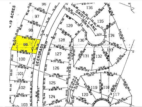 .257 Acres Res. : Brookeland : Jasper County : Texas